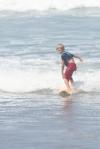 Shae surfing