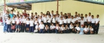 First school picture at La Esperanza School
