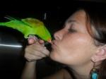 """Tica giving besos """"kisses"""""""